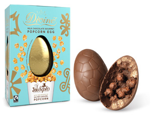 Milk chocolate gourmet popcorn easter egg joe sephs negle Gallery