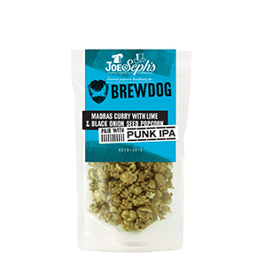BrewDog Madras Curry with Black Onion Seed & Lime Gourmet Popcorn