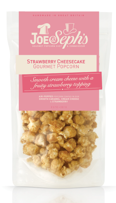 Strawberry Cheesecake Popcorn Gourmet Popcorn