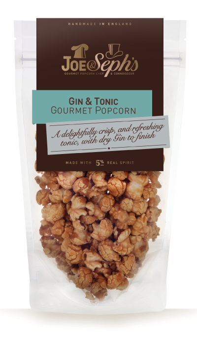 Gin and tonic popcorn