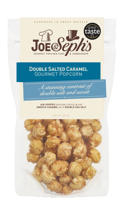 Double Salted Caramel Popcorn Gourmet Popcorn | Joe & Seph's
