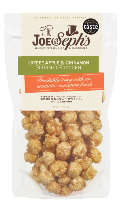 Toffee Apple & Cinnamon Popcorn Gourmet Popcorn