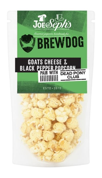 BrewDog Goats Cheese & Black Pepper Popcorn Gourmet Popcorn